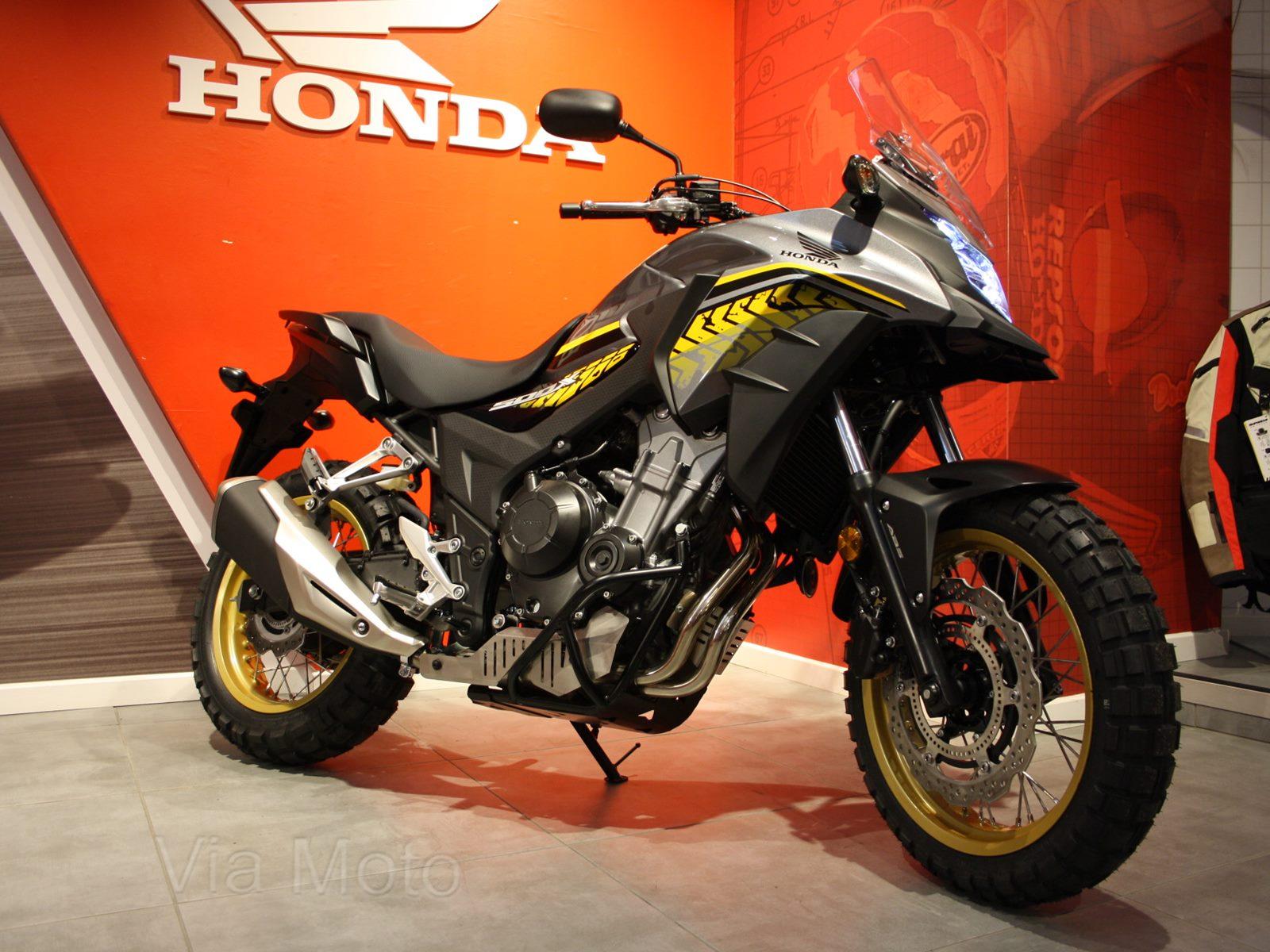 HONDA CB500X RALLY RAID Edition Only 35 Miles
